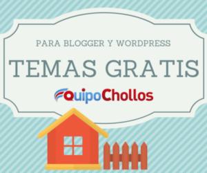 Temas gratis para blogs de Blogger y WordPress