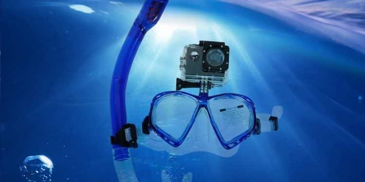 Accesorios de buceo para cámaras GoPro y otras cámaras deportivas