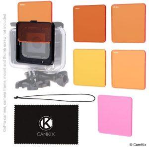 filtros e buceo para GoPro y otras Action Cam