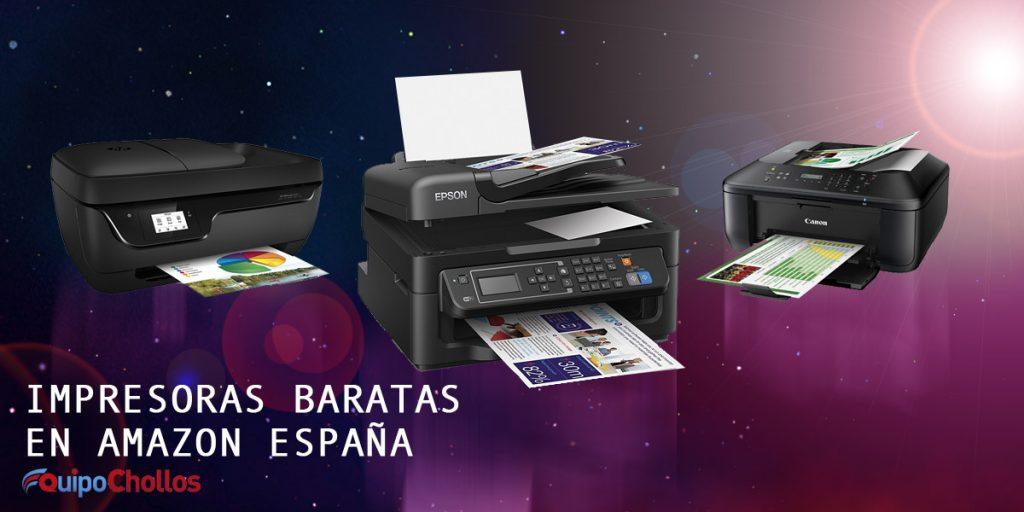 Impresoras baratas en Amazon España
