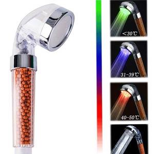 divertido cabezal de ducha con luz: Gadgets útiles y originales que podemos comprar en Amazon