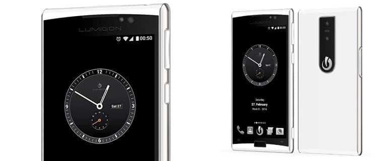 Lumigon t3. Móviles raros, ediciones especiales y smartphones con un toque diferente