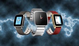 Características de Pebble Time, Time Steel y Time Round
