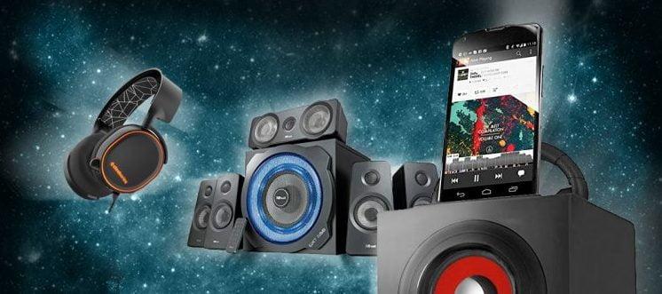 Imagen y Sonido altavoces baratos electrónica para el hogar