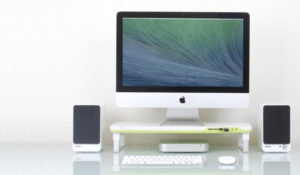 Soporte para pantallas de ordenador Satechi F3 Smart Monitor