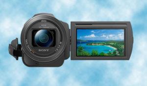 Sony Handycam® HDR-CX240E y sensor CMOS Exmor R® 32% menos