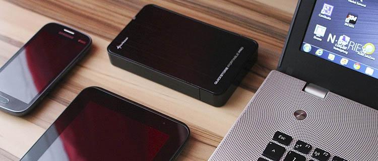 Disco duro con Wifi para fotografía, smartphones y ordenador: imagen de portada