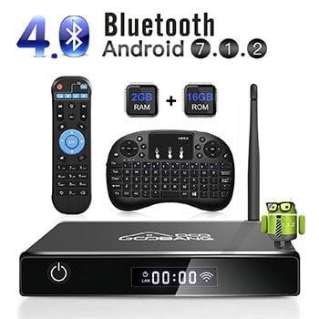 TV box android con accesorios. Cómo convertir TV en Smart TV Android con TV Box Android