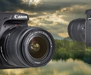 Canon EOS 4000D + objetivo EF-S 18-55mm III