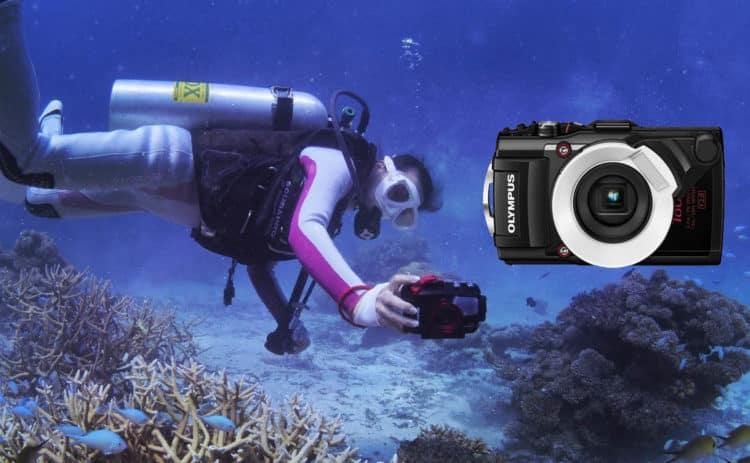 cámara de fotos acuática barata