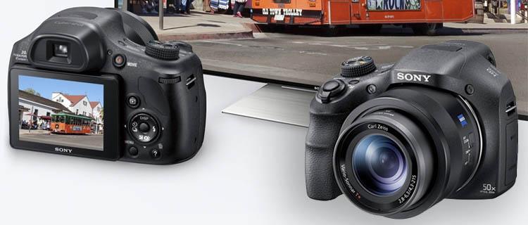 sony DSC-HX350 - Cámara Bridge: Comprar cámara de fotos Réflex barata o una cámara Bridge online