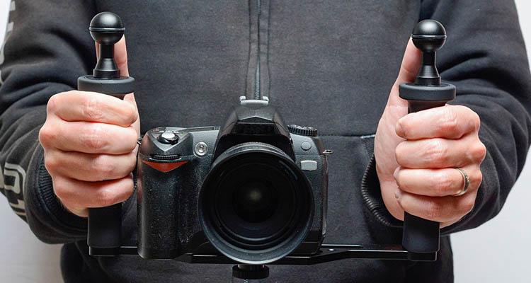 Soporte de buceo y de estabilidad para cámara de fotos profesional. Accesorios de buceo para cámaras GoPro y otras cámaras deportivas