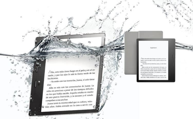 Kindle Oasis y otros dispositivos Kindle de Amazon