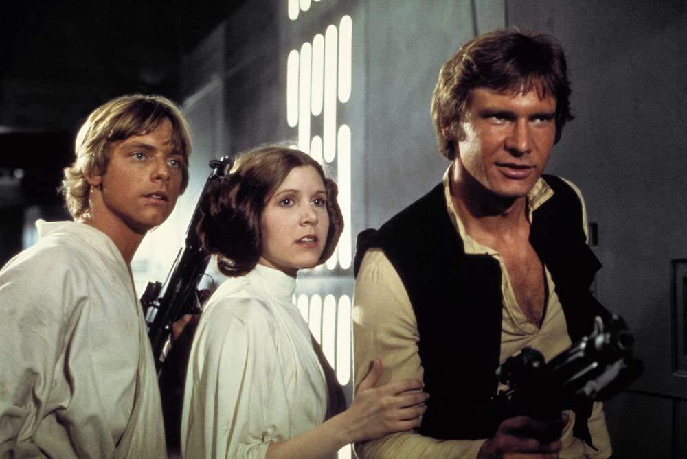 Han Solo, Leia Organa, Luke SkyWalker de la Guerra de las Galaxias, Star Wars. Promoción de películas y series DVD y Blu-Ray baratas en Amazon
