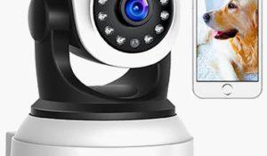 Cámara de vigilancia con visión nocturna APEMAN 30% de descuento