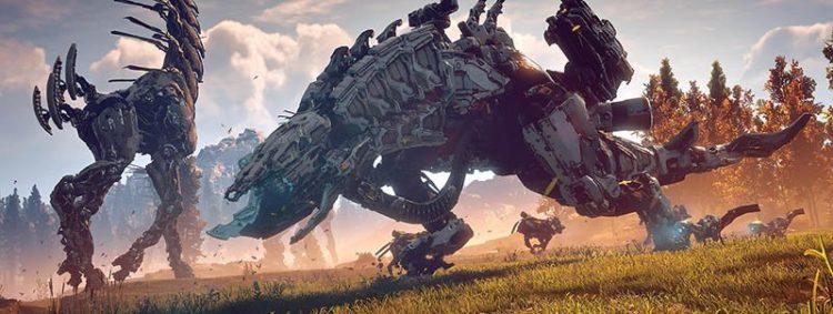 Horizon: Zero Dawn - Misiones secundarias en terrenos de caza y gran jugabilidad - mejores juegos para PS4