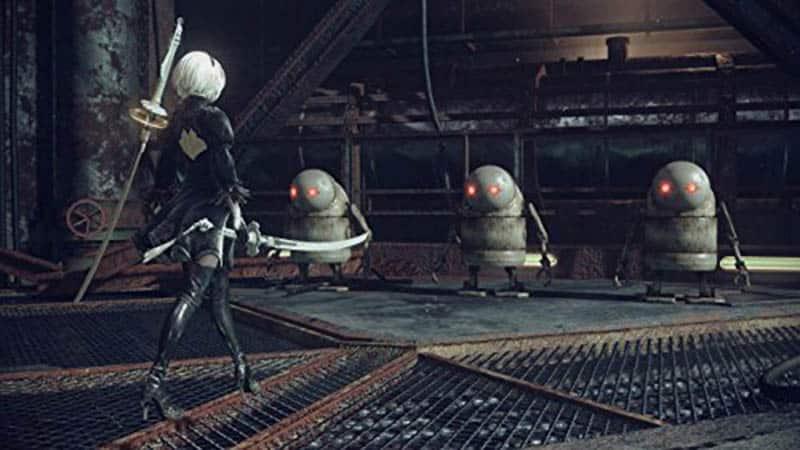 Nier Automata: disponible Day One Edition. Título entre los mejores juegos para PS4
