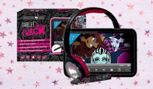 Tablet Monster High superpack con funda, auriculares y lápiz digital
