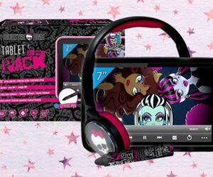Tablet Infantil Monster High con auriculares y cargador