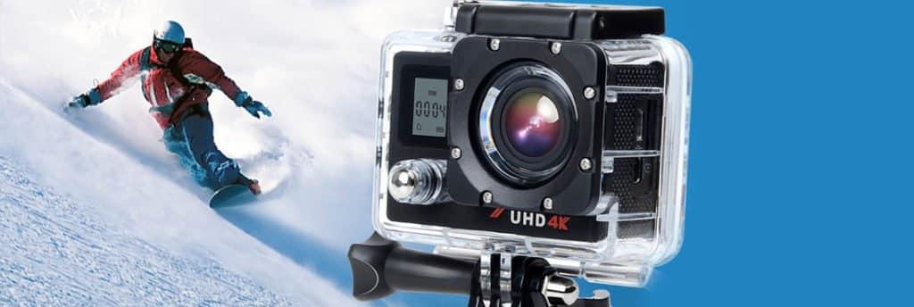 Campark ACT76 - Mejor cámara de acción barata y mejores cámaras deportivas