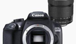 ¡Super oferta! Canon EOS 1300D con objetivo EF-S 18-135 mm y 31% descuento