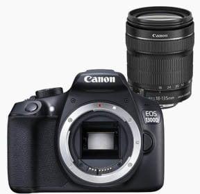 ¡Super oferta! Canon EOS 1300D + objetivo EF-S 18-135 mm (37% descuento)