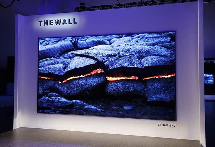 CES 2018: pantallas 8K y televisores enrollables a la vuelta de la esquina