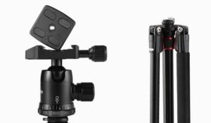 Oferta trípode para cámara con descuento del 25% (193 cm alto)