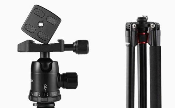 trípode para cámara de fotos