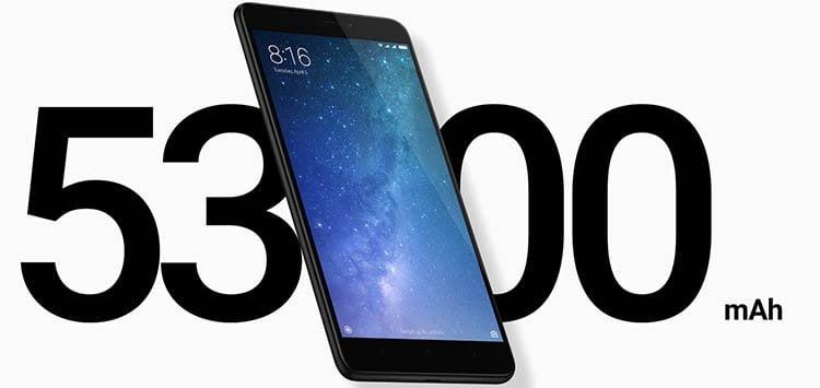 xiaomi mi max 2 - Móvil Android con mejor batería y más duradera a la venta