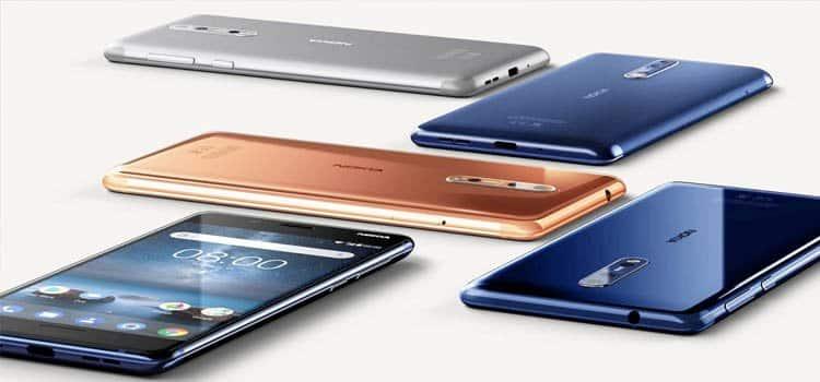 nokia 8 - Los mejores móviles con mucha memoria: 128GB y más