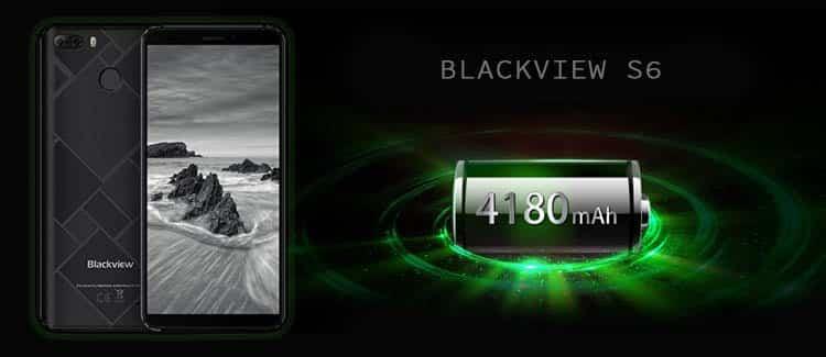 Blackview S6 batería de 4180mAh
