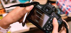 19% de descuento en cámara Réflex Canon EOS 4000D