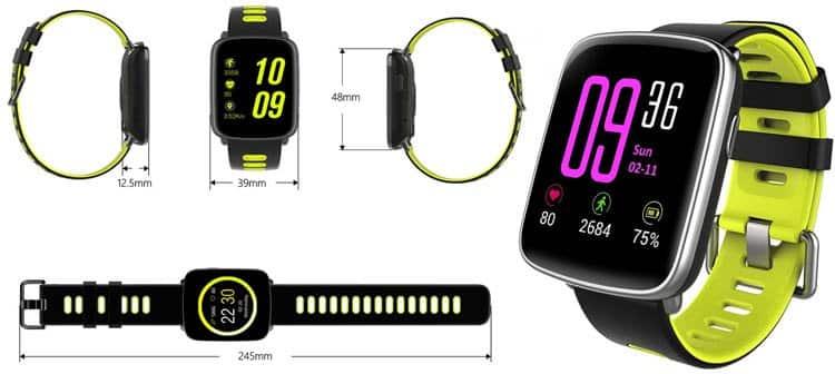 Reloj inteligente Willfull barato con certificación IP68