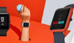 El smartwatch con mejor batería: Xiaomi Amazfit Bip