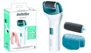 Aparato de pedicura BaByliss F210E. Lima eléctrica descuento 30%.