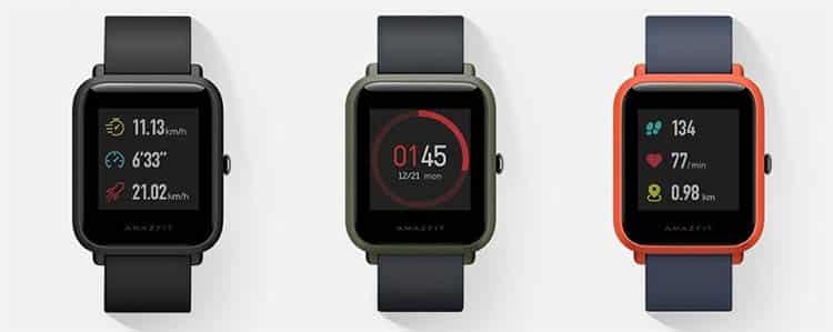 Xiaomi Amazfit Bip Smartwatch con mejor batería