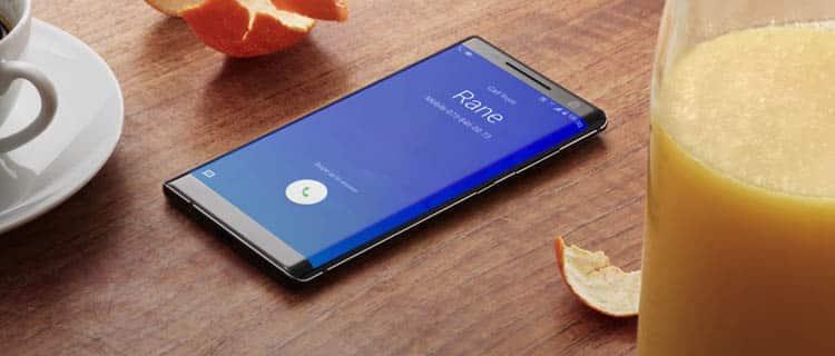 Nokia 8 sirocco. Móviles para autónomos y profesionales