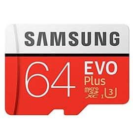 Descuento de hasta el 74% en microSD Samsung EVO Plus