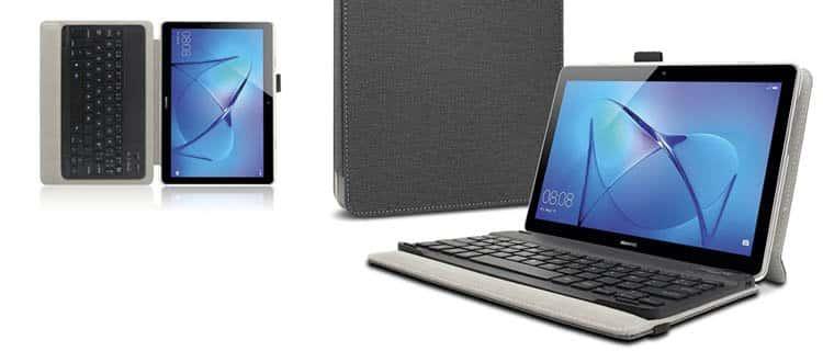 Huawei Mediapad T3 10 con Teclado y Funda ¿Cuáles son las mejores tablets para trabajar y estudiar? Actualizado.