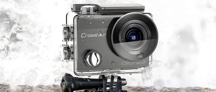 Crosstour Cámara Deportiva WiFi Cámara de Acción: Mejor cámara de acción barata y mejores cámaras deportivas