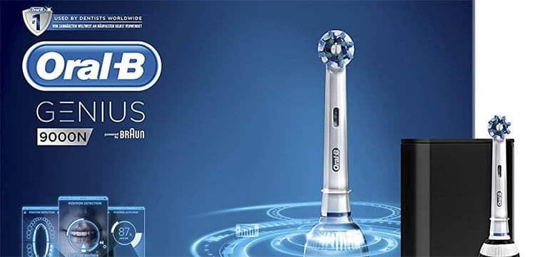 56% de ahorro al comprar cepillo de dientes Oral-B Genius 9000