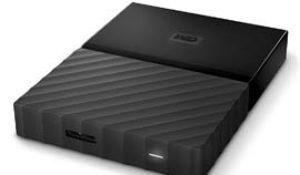 Disco duro portátil WD My Passport de 4TB con 38% de descuento