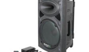 Sistema de sonido portátil y autónomo Ibiza PORT8VHF-BT