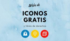 21 webs donde descargar iconos gratis para uso personal y profesional