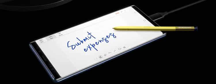 Principales puntos fuertes del Samsung Galaxy Note 9