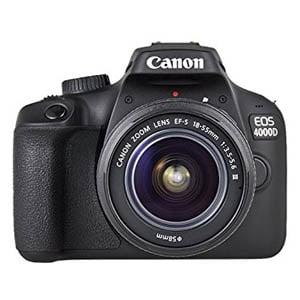 ¡Oferta! Canon EOS 4000D + objetivo EF-S 18-55mm III (24% descuento)