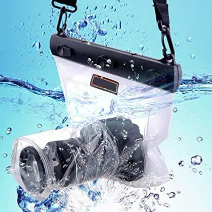 Bolsa sumergible para cámara réflex, EVIL o BRidge. Mejor cámara de fotos acuática barata y otros modelos sumergibles