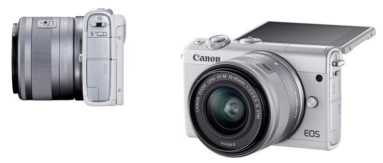 canon eos m100. Mejor cámara EVIL del mercado calidad-precio. Los modelos EVIL mejor valorados
