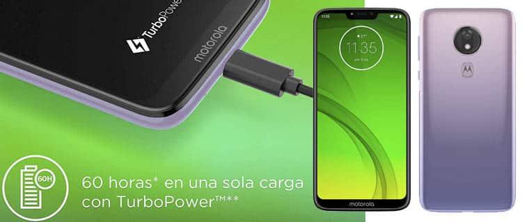 motorola lenovo moto g7 power. Móvil Android con mejor batería y más duradera a la venta